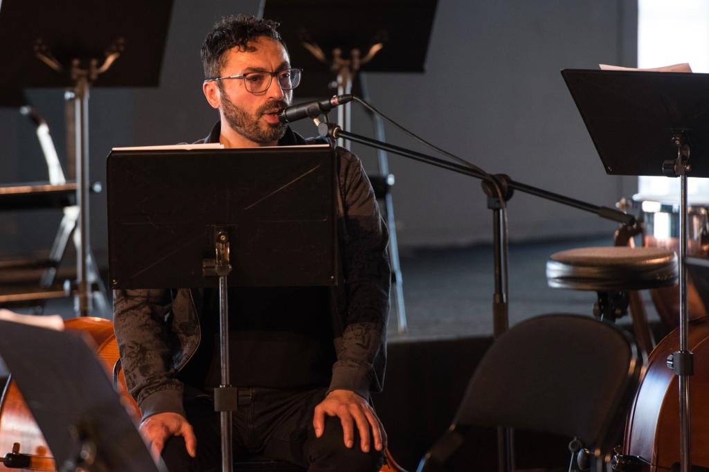 Ensaio com orquestra, 2017, Joclécio Azevedo ©José Caldeira